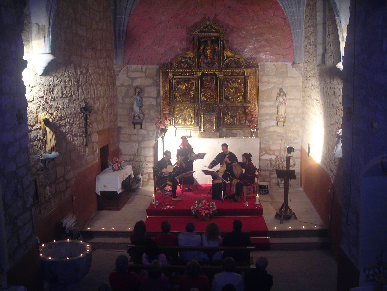 La Noche Iluminada, dentro del programa La luz del Arte, de Guinicio, Miranda de Ebro 2