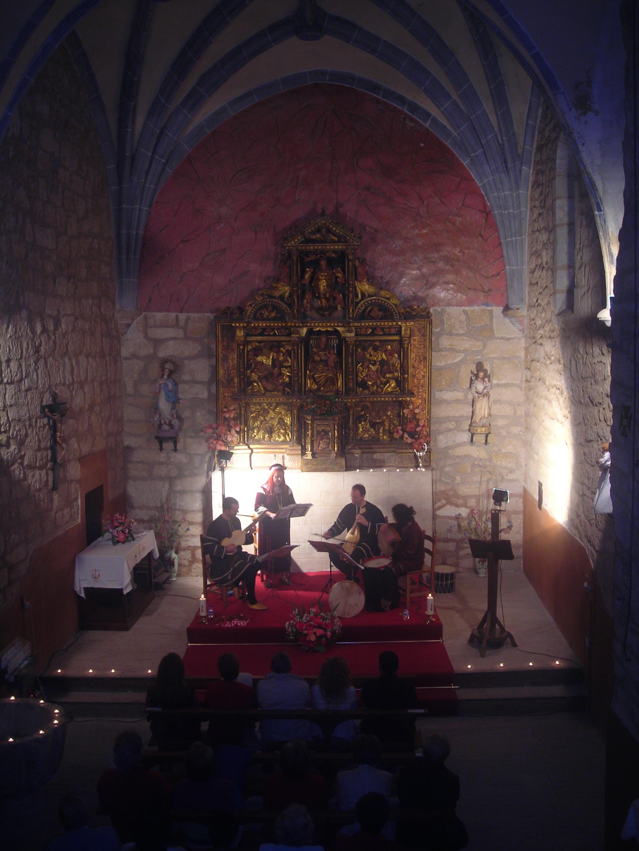 La Noche Iluminada, dentro del programa La luz del Arte, de Guinicio, Miranda de Ebro 3