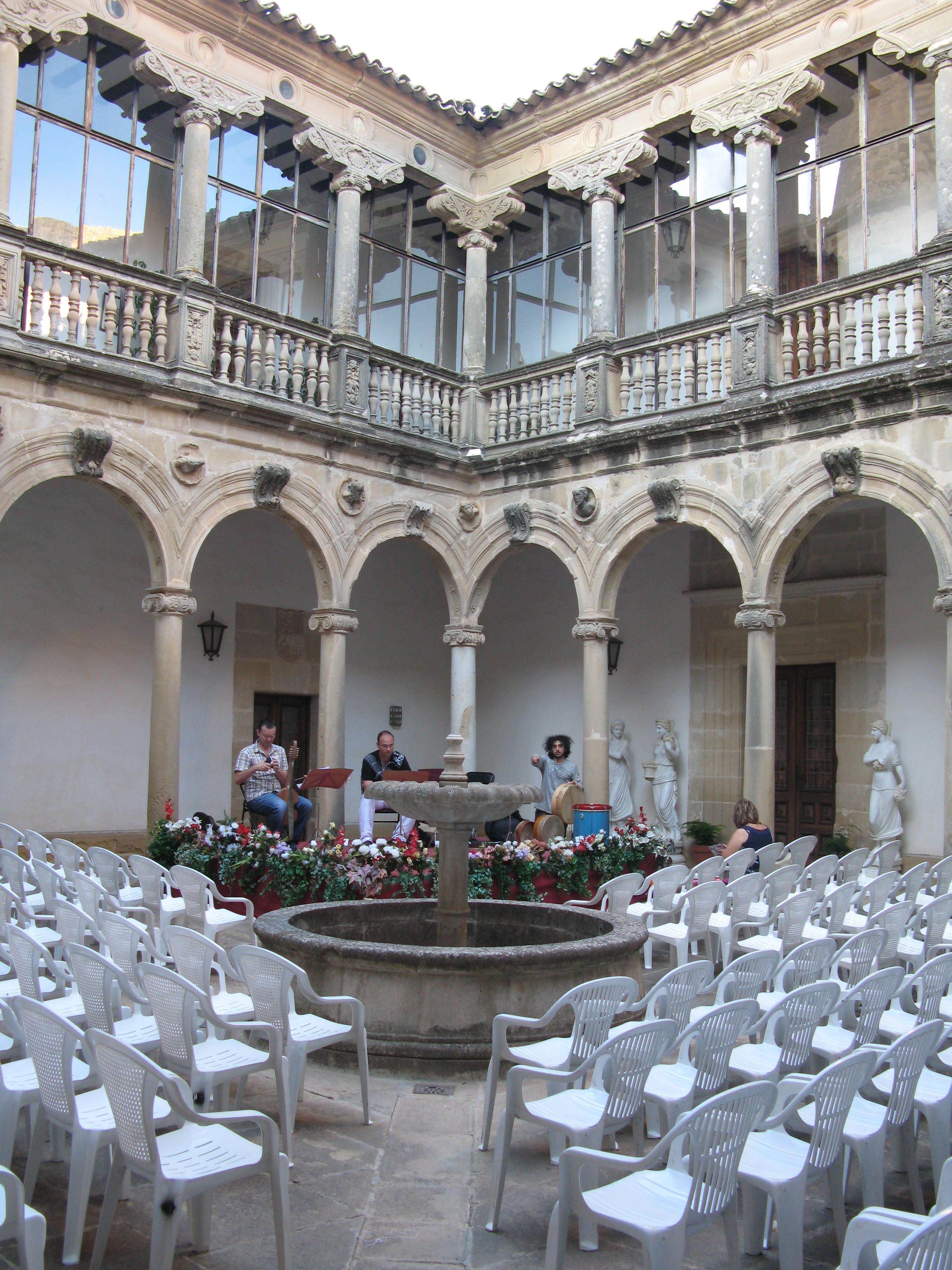 Prueba de sonido. Palacio de Canena, Jaén.